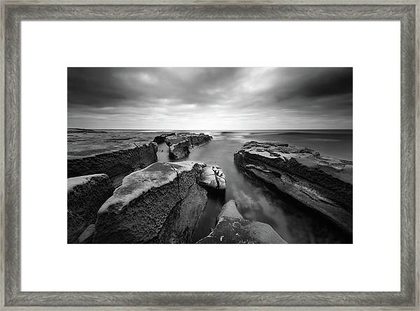Pacific Reef Framed Print by Joseph Smith