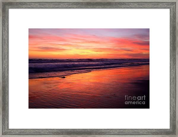 Cardiff Coast  Framed Print