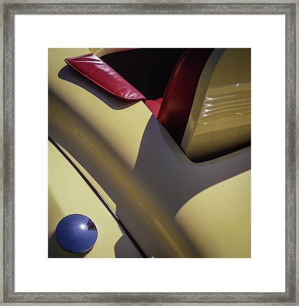 Packard Rumble Seat Framed Print