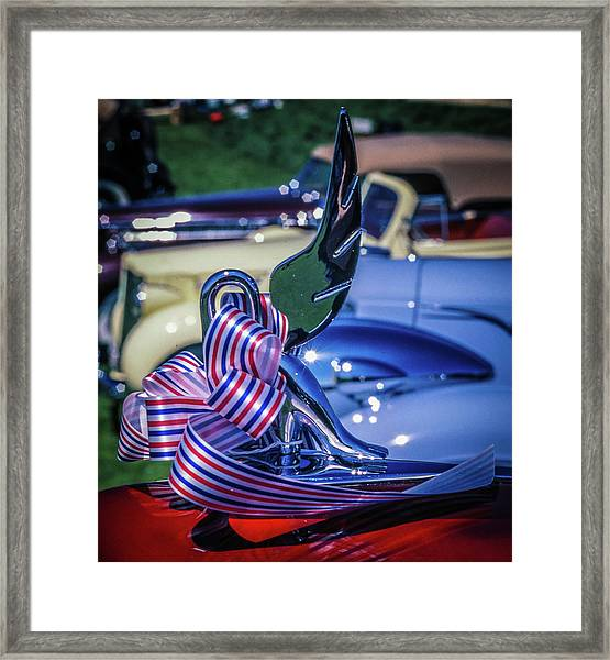 Packard Swan Framed Print