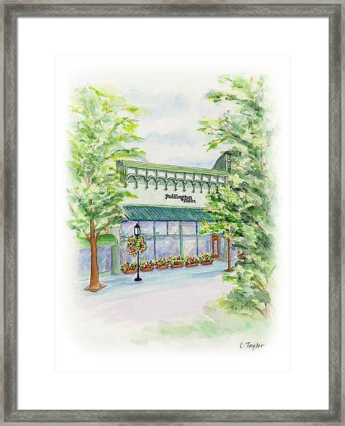 Paddington Station Framed Print