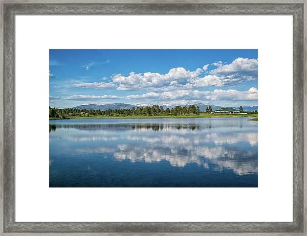 Pagosa Summer Reflections Framed Print