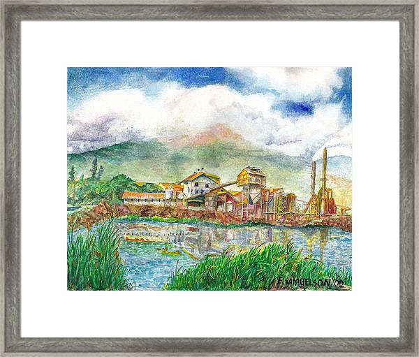 Paia Mill 1 Framed Print
