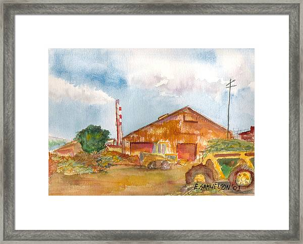 Paia Mill 3 Framed Print