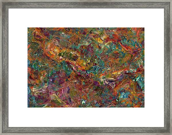 Paint Number 16 Framed Print
