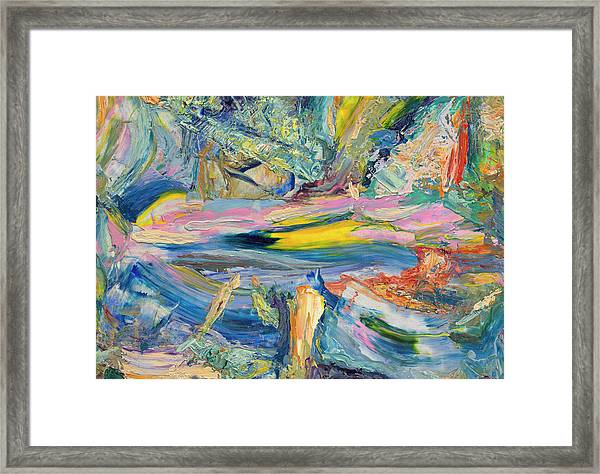 Paint Number 31 Framed Print