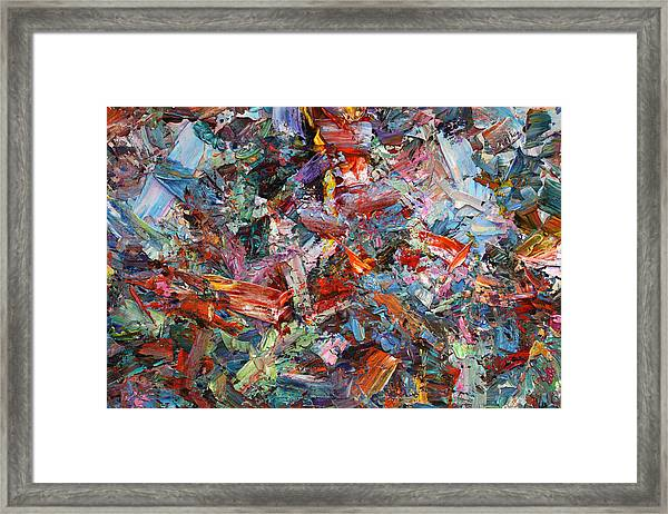 Paint Number 42-a Framed Print