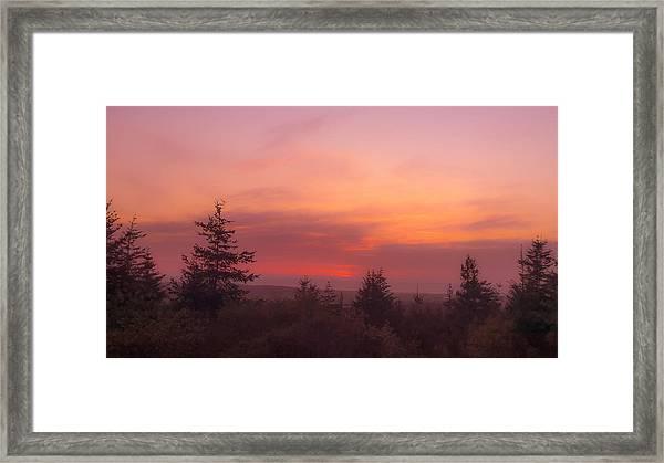 Painted Sky IIi Framed Print