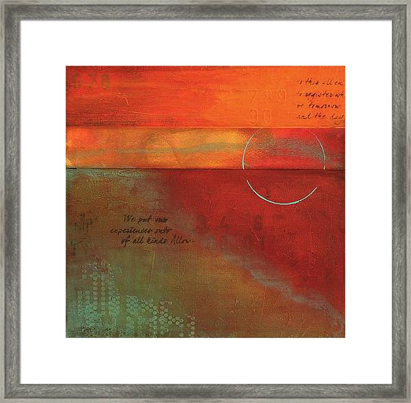 Painterly Framed Print
