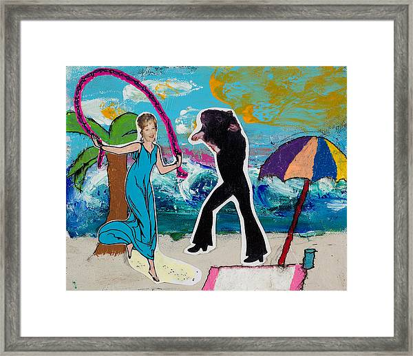Pairs - Me And Jackson Framed Print