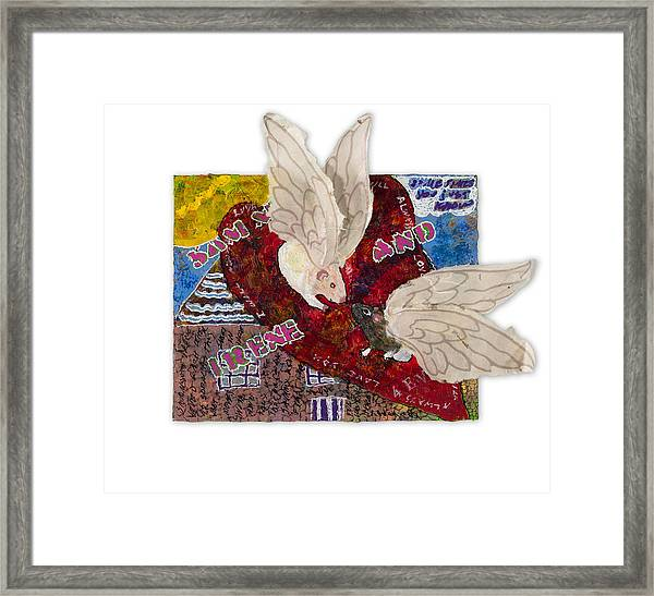 Pairs - Sammy And Irene Framed Print