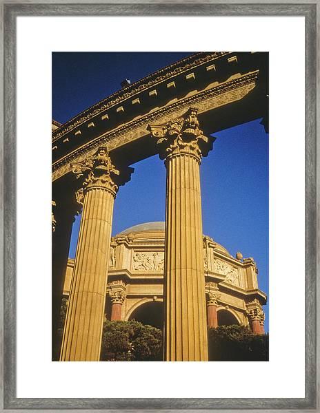 Palace Of Fine Arts, San Francisco Framed Print