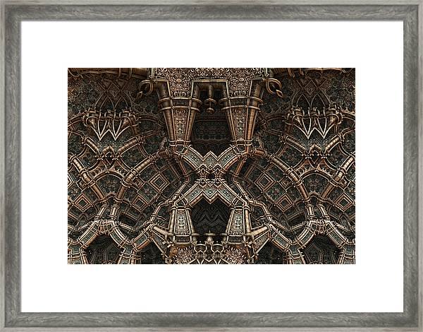 Palace Wall Framed Print