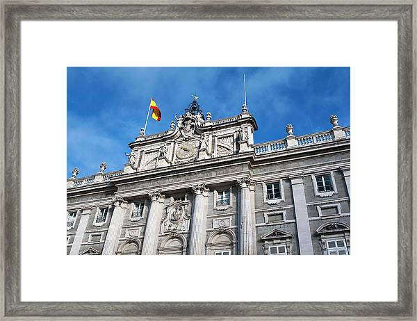 Framed Print featuring the photograph Palacio Real by Lorraine Devon Wilke