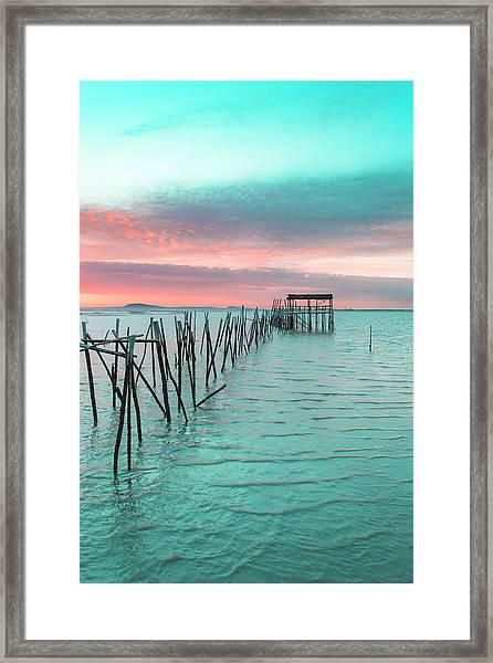 Palafitico 01 Framed Print