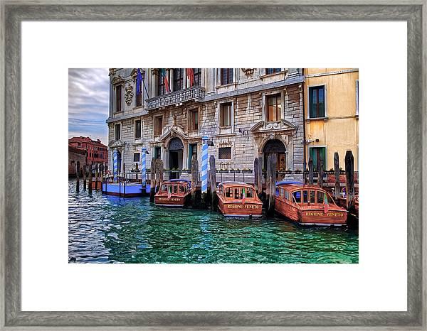 Palazzo Balbi Venice Framed Print