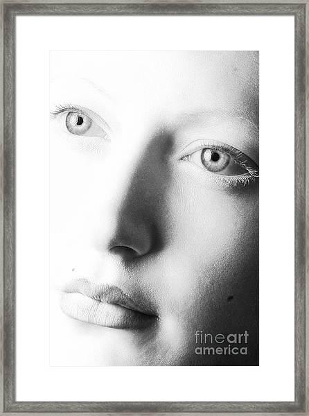 Pale Moonlight Framed Print