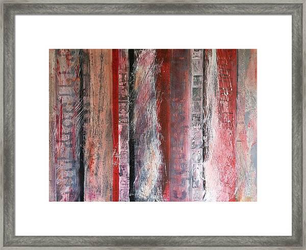 Palimpsest Framed Print