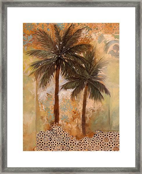 Palme Sparse Framed Print