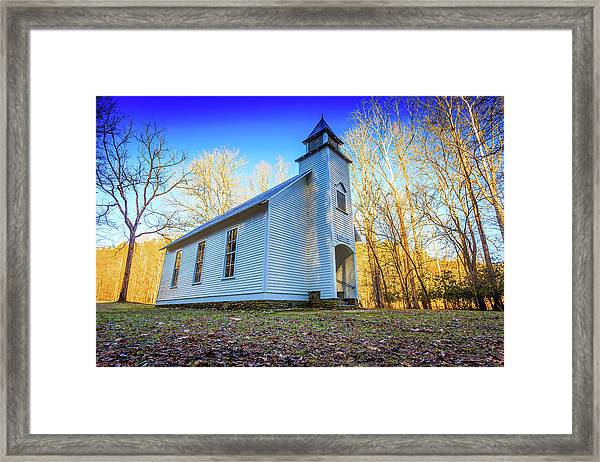 Palmer Chapel Methodist Church Framed Print