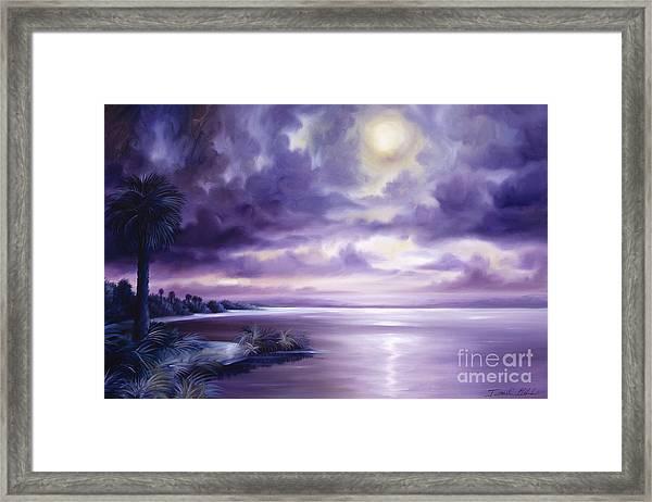 Palmetto Moonscape Framed Print