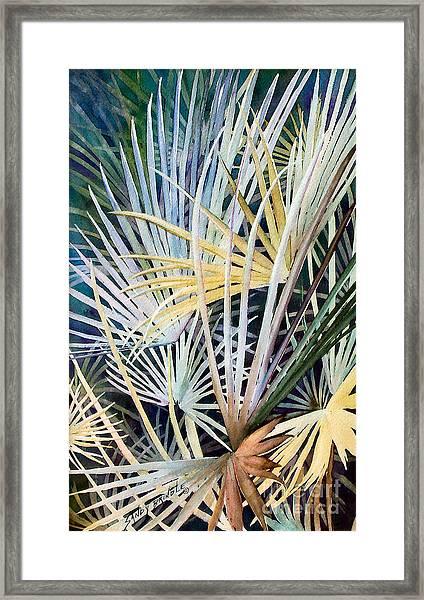 Palms   Original Framed Print