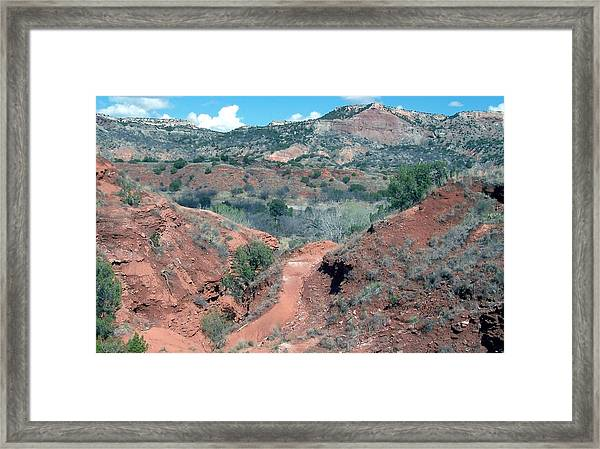 Palo Duro Canyon Framed Print