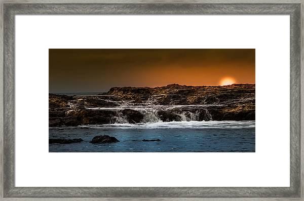 Palos Verdes Coast Framed Print