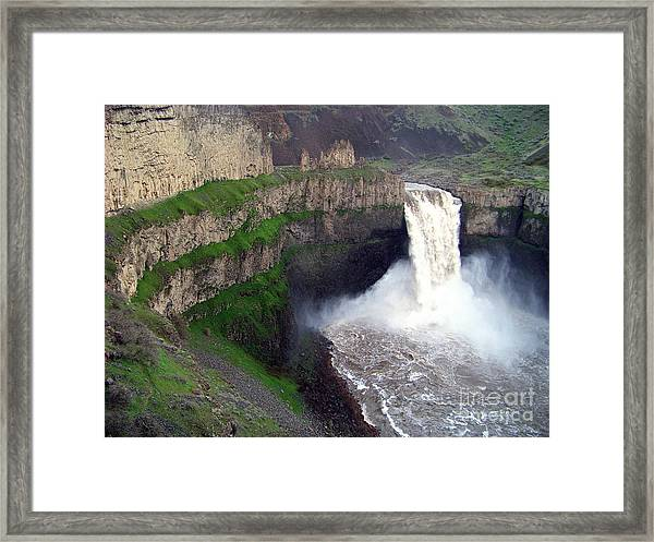 Palouse Falls - The Official Washington State Waterfall Framed Print