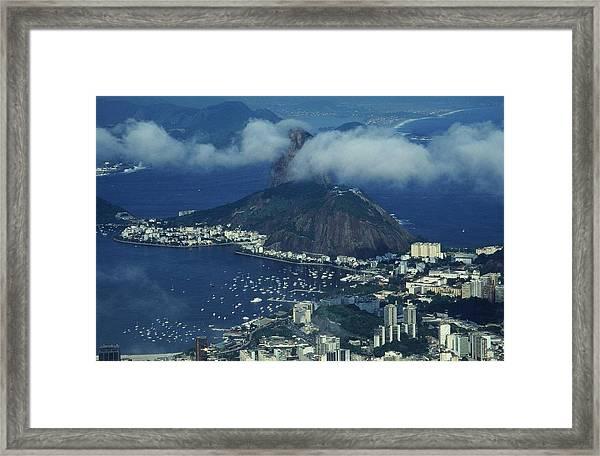 Pan De Azucar - Rio De Janeiro Framed Print