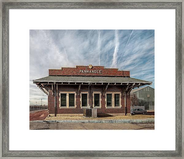 Panhandle Depot Framed Print
