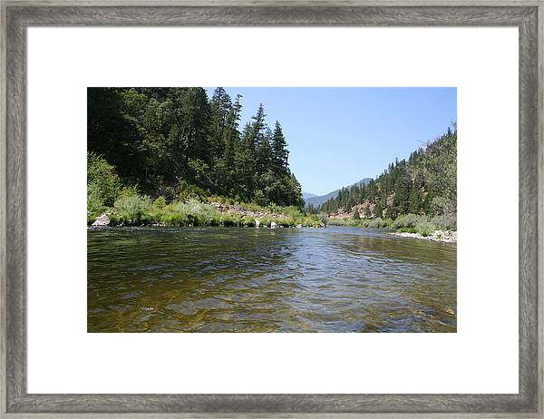 Framed Print featuring the photograph Panner's River by Dylan Punke