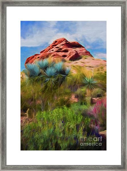 Papago Dreams Framed Print