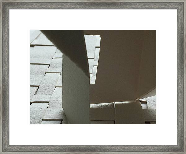 Paper Structure-1 Framed Print