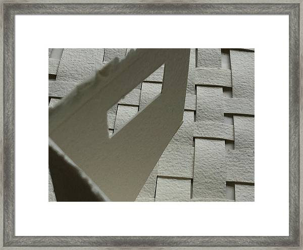 Paper Structure-2 Framed Print