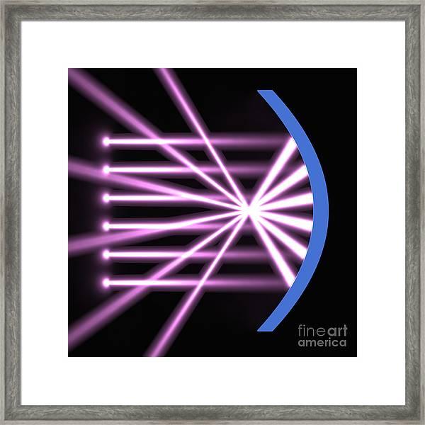 Parabolic Reflector 2 Framed Print
