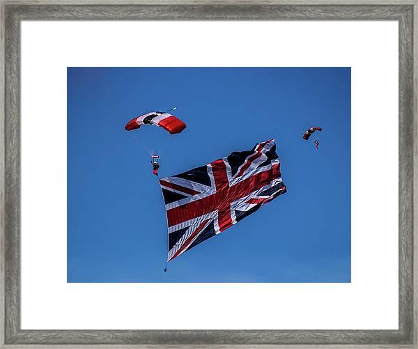 Parachutist Framed Print