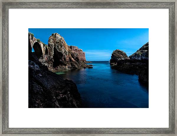 Paradise Lost At Sea Framed Print