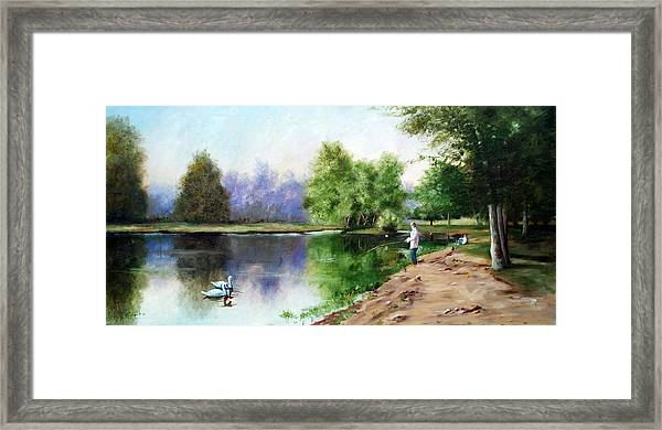 Paradise Park Framed Print