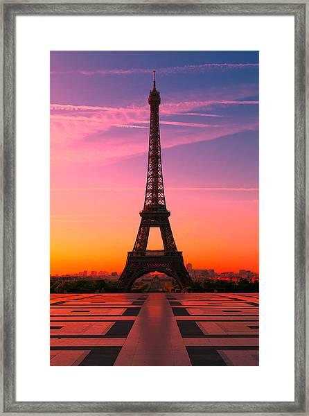 Paris 15 Framed Print