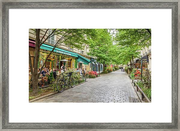 Paris In The Spring  Framed Print