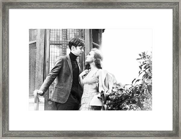 Paris Lovers 3 Framed Print