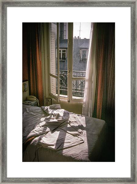 Framed Print featuring the photograph Paris Morning by Samuel M Purvis III