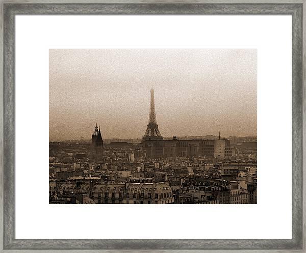 Paris Of Yesteryear II Framed Print