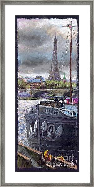 Paris Pont Alexandre IIi Framed Print