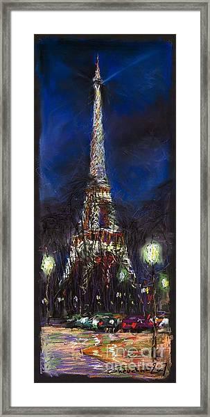 Paris Tour Eiffel Framed Print