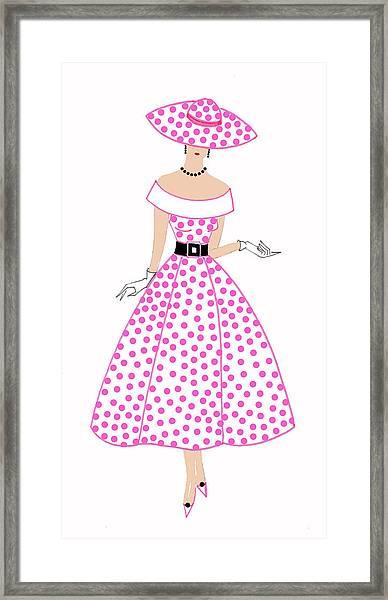 Parisien Chic - Bridgette Framed Print