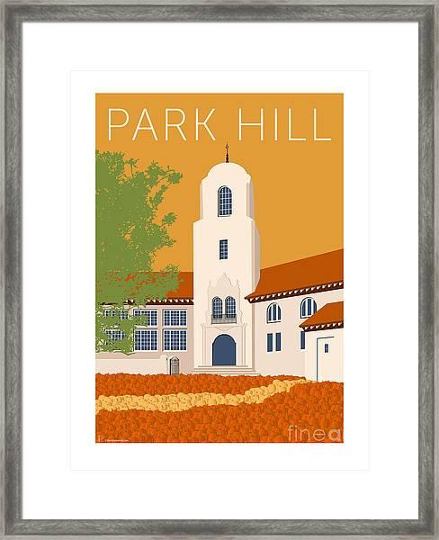 Park Hill Gold Framed Print