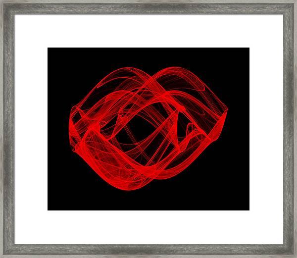 Parting Wave I Framed Print
