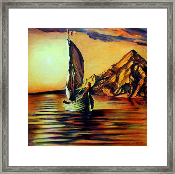 Passage- The Journey Home Framed Print